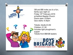 GB & BB Family Quiz Night