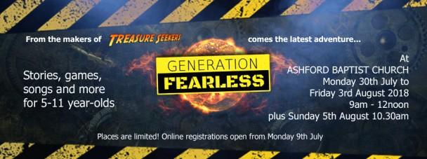Gen Fearless web banner